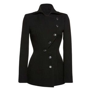 Jackets & Blazers - 🆕 Black Asymmetrical Button Jacket